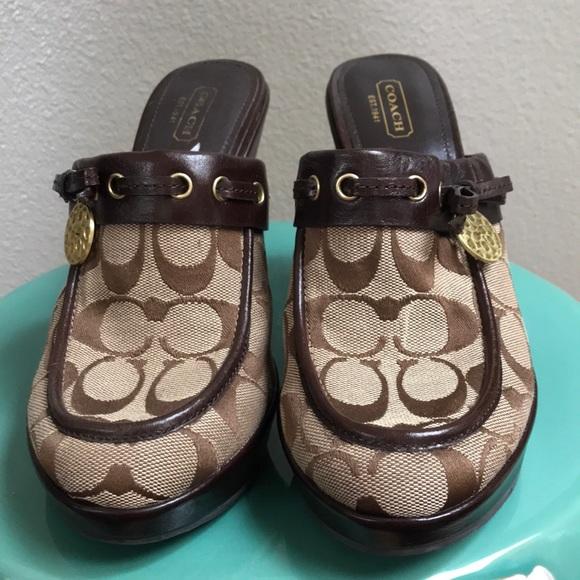 Coach Shoes - EUC, Authentic Coach Jodey Mule!